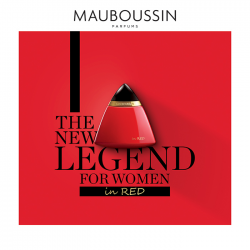 Parfum Mauboussin in Red